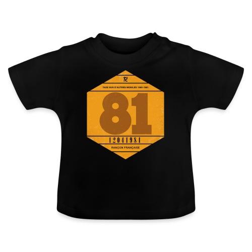 Vignette automobile 1981 - T-shirt Bébé