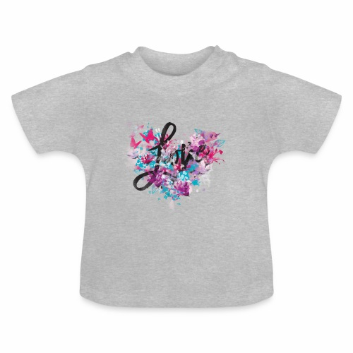 Love with Heart - Baby T-Shirt