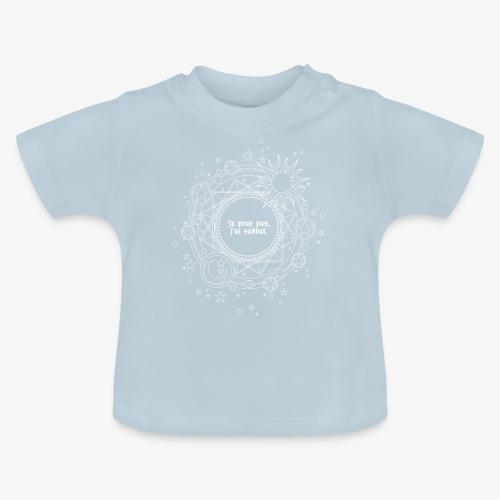 Je peux pas, j'ai sabbat. - T-shirt Bébé