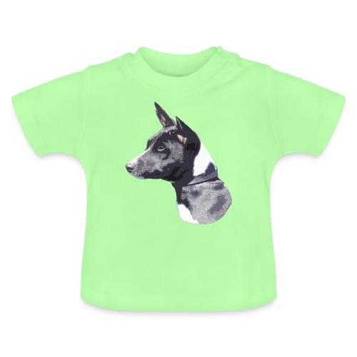basenji black - Baby T-shirt
