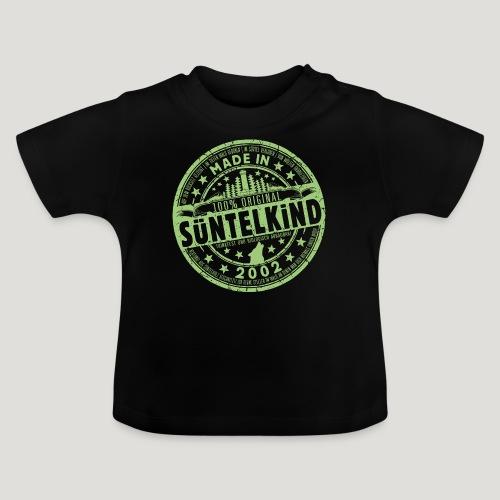 SÜNTELKIND 2002 - Das Süntel Shirt mit Süntelturm - Baby T-Shirt