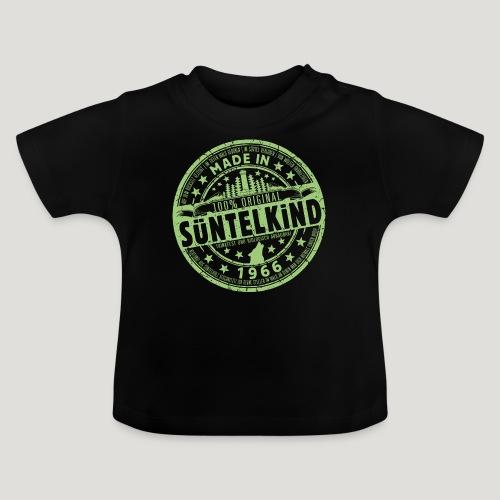 SÜNTELKIND 1966 - Das Süntel Shirt mit Süntelturm - Baby T-Shirt