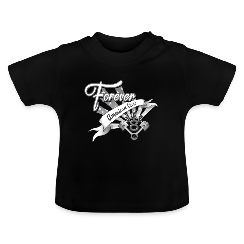 Forever American Cars - Baby-T-shirt
