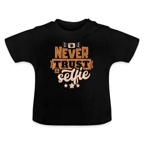 Never trust - Baby-T-shirt