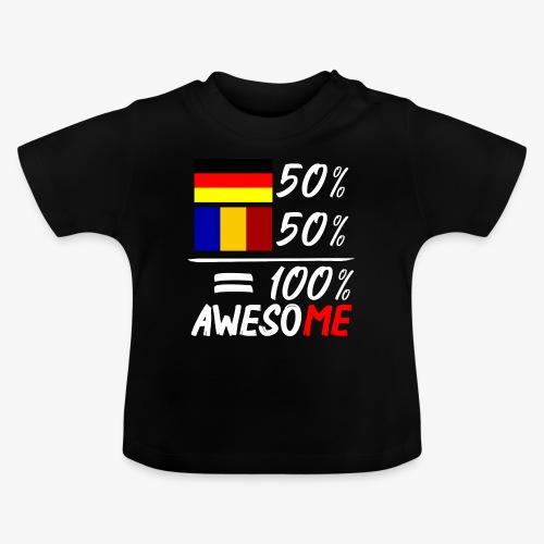 50% Deutsch 50% Rumänisch - Baby T-Shirt