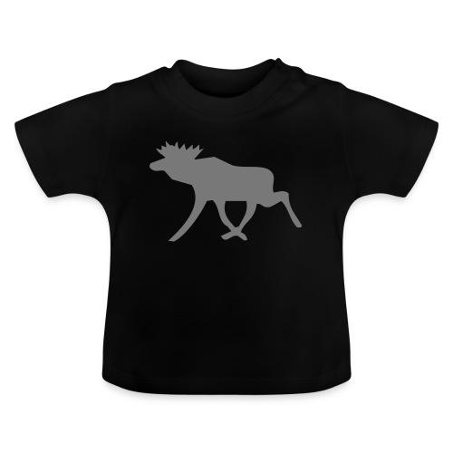 Schwedenelch; schwedisches Elch-Symbol (vektor) - Baby T-Shirt