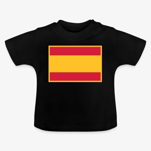 Banderola española - Camiseta bebé
