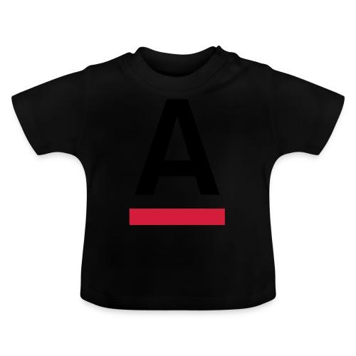 Alliansfritt Sverige A logo 2013 Färg - Baby-T-shirt
