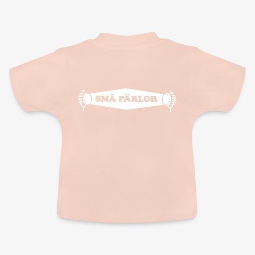 Små Pärlor logoype - Baby-T-shirt