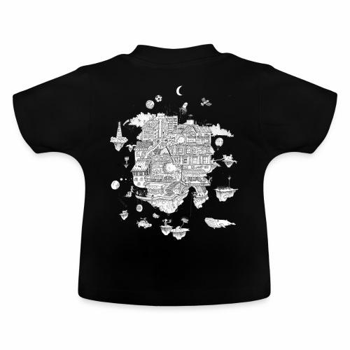 mon territoire n est pas de ce monde - Camiseta bebé