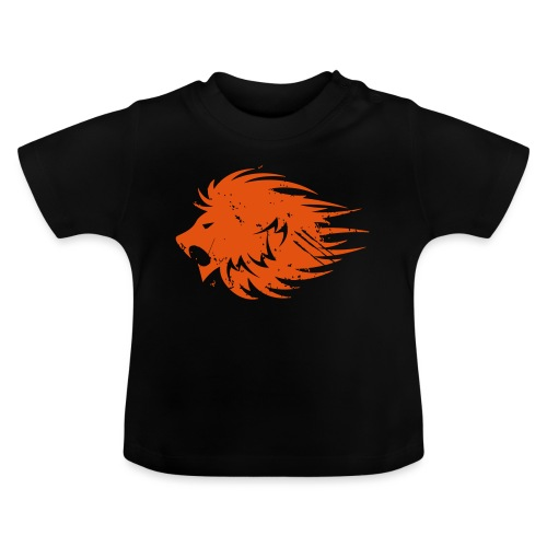 MWB Print Lion Orange - Baby T-Shirt