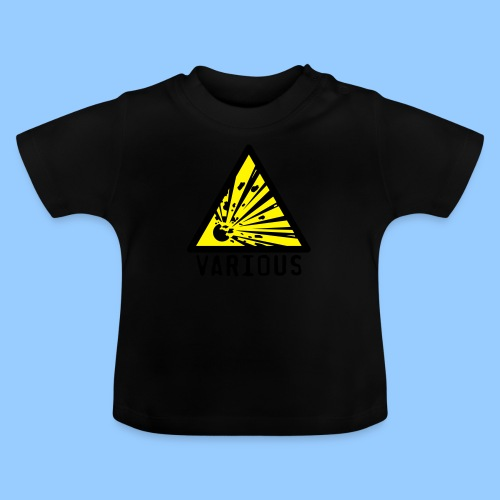 VariousExplosions Triangle (2 colour) - Baby T-Shirt