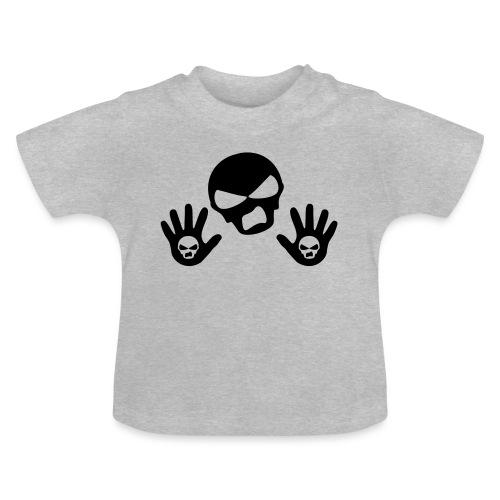 Scottish Button Saltire - Baby T-Shirt