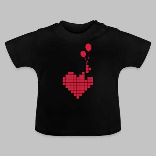 heart and balloons - Baby T-Shirt