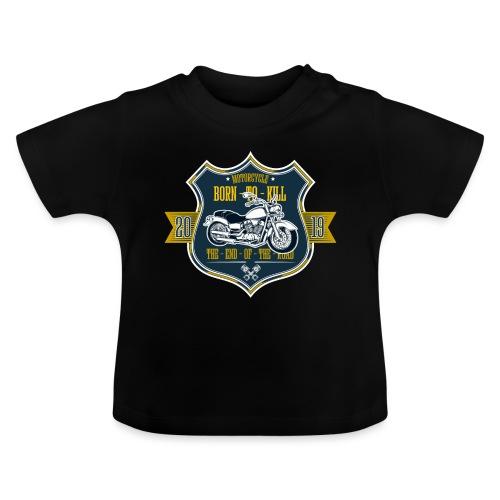 Motorcycle2 - Camiseta bebé