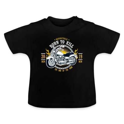 Motorcycle1 - Camiseta bebé