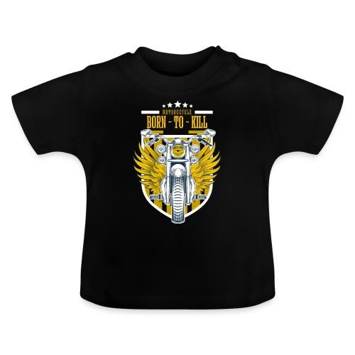 Motorcycle3 - Camiseta bebé