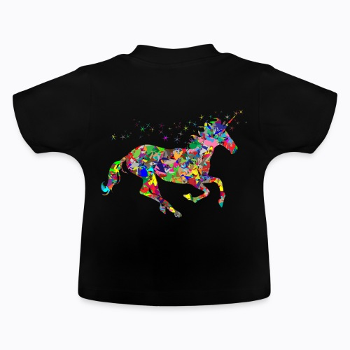 unicorn colorful - Baby T-Shirt