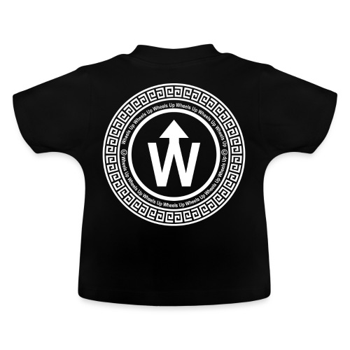wit logo transparante achtergrond - Baby T-shirt
