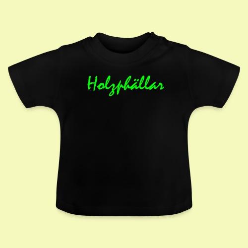 Schriftzug Grün - Baby T-Shirt