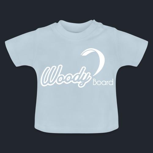Logo Woodyboard Blanc - T-shirt Bébé