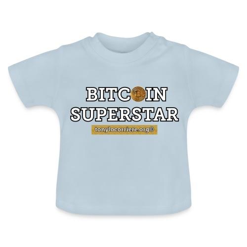 bitcoin superstar - Maglietta per neonato