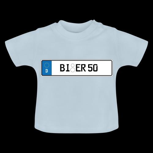 Kennzeichen Bier - Baby T-Shirt