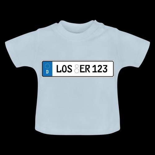 Kennzeichen Loser - Baby T-Shirt