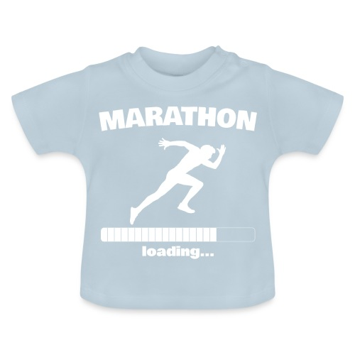 Marathon loading... Baby Motiv - Baby T-Shirt
