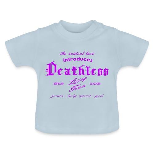 deathless living team violet - Baby T-Shirt