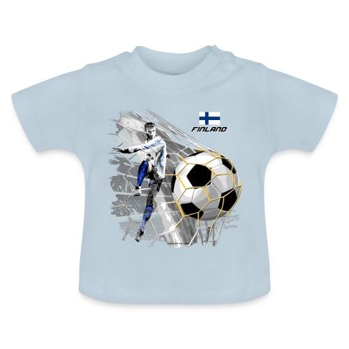 GP22F-05 FINLAND FOOTBALL PRODUCTS - Tuotteet - Vauvan t-paita