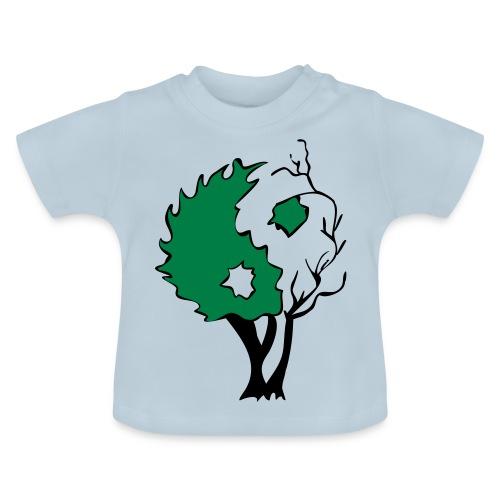 Yin Yang Arbre - T-shirt Bébé