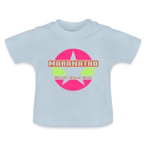 maranatha rosa-grün - Baby T-Shirt
