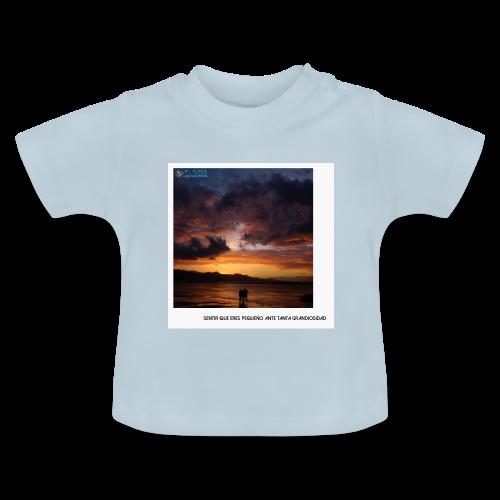 Atardecer en Las Canteras - Camiseta bebé