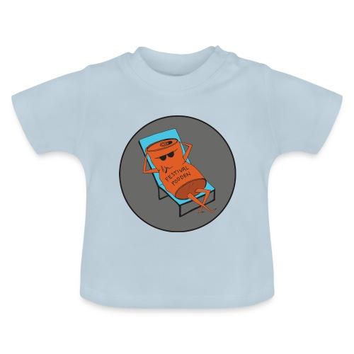 Festivalpodden - Loggan - Baby-T-shirt
