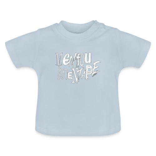 MENFOUMENTAPE blanc et noir by Alice Kara - T-shirt Bébé