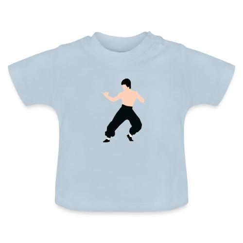 Bruce lee Kampf Pose - Baby T-Shirt