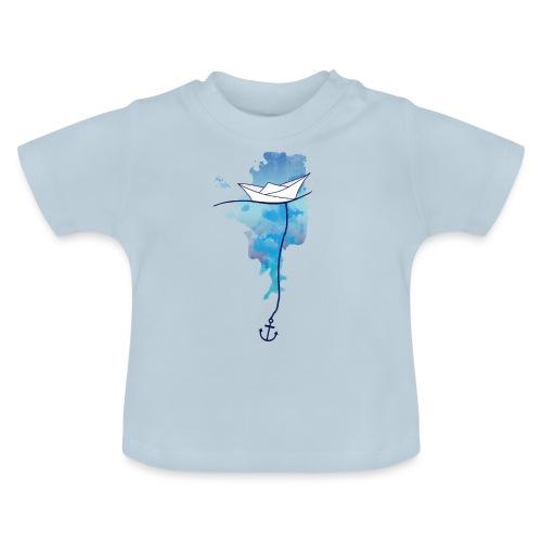 Papierschiff - Baby T-Shirt