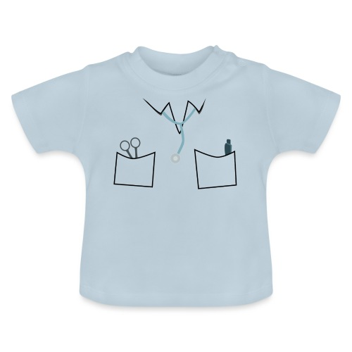 Scrubs tee for doctor and nurse costume - Baby T-Shirt