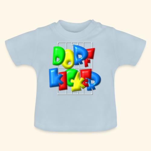 Dorfkicker im Fußballfeld - Balloon-Style - Baby T-Shirt