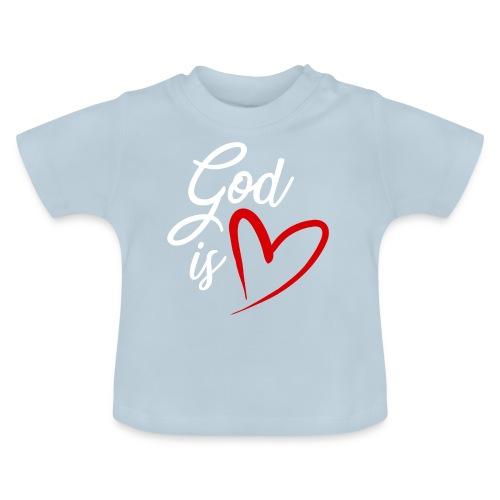God is love 2B - Maglietta per neonato