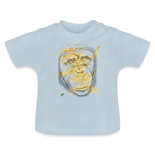 Scimpanzè color - Maglietta per neonato