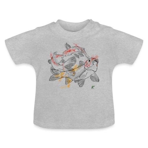 Carpa koi color - Maglietta per neonato