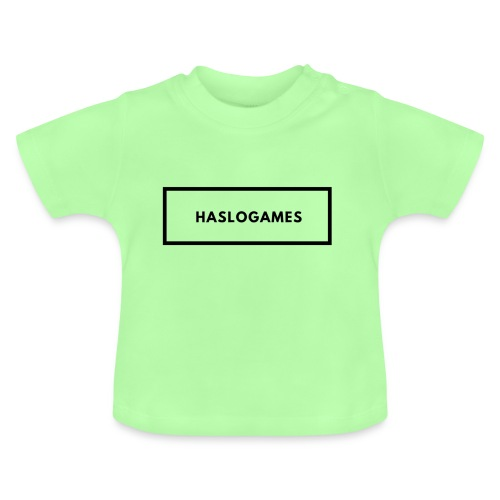 HasloGames White/Black edition! - Baby T-shirt