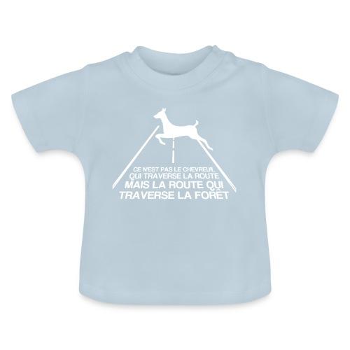 Chevreuil blanc - T-shirt Bébé