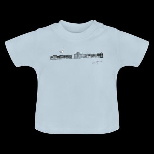 D20 El Eje Montera V1 B - Camiseta bebé