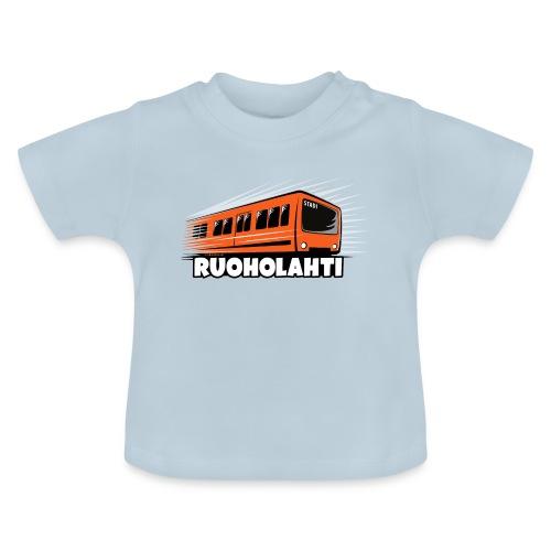 17 - METRO RUOHOLAHTI - HELSINKI - LAHJATAVARAT - Vauvan t-paita