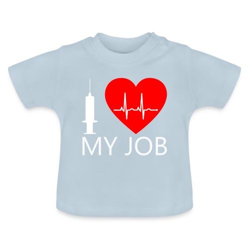 ILoveKrankenhaus3 weiss - Baby T-Shirt