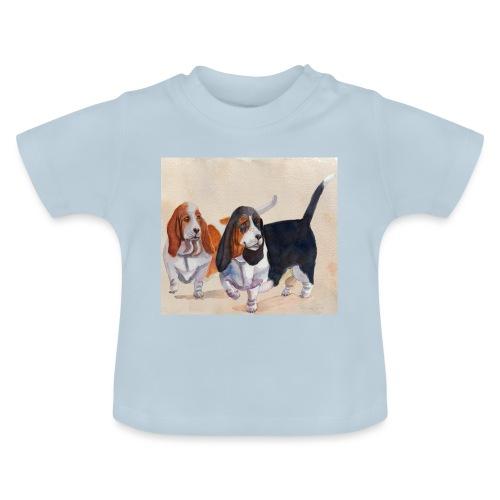 Basset hound_double-trot - Baby T-shirt