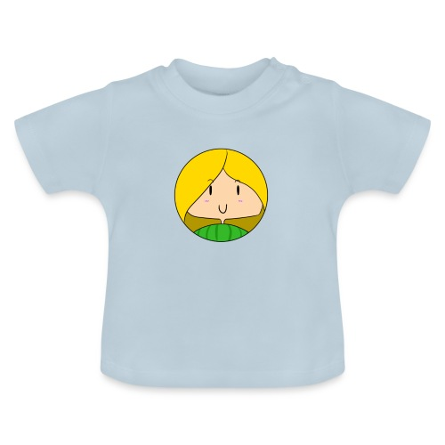 fille blonde - T-shirt Bébé